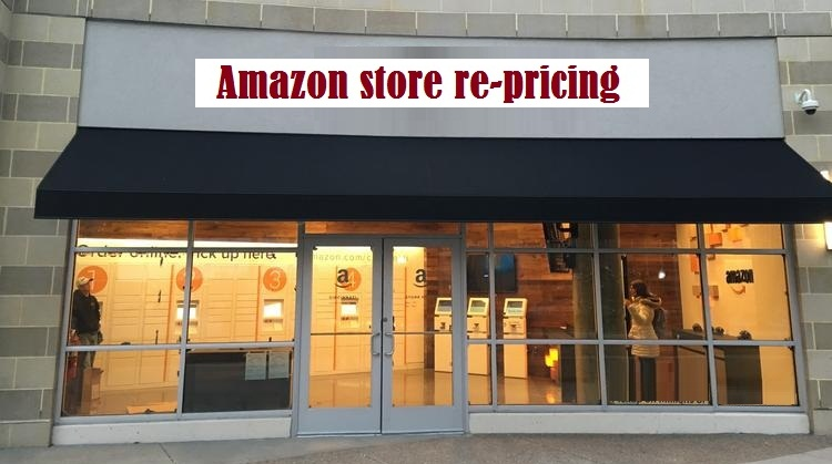 Amazon store re-pricing